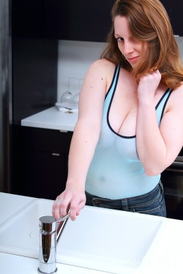 Wpid All Natural Busty Redhead Tease