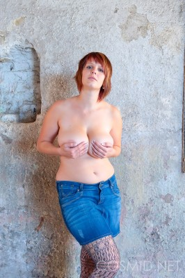 Wpid Chubby Redhead Shows Off Her Big Tits