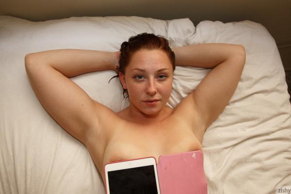 Wpid Spencer Bisson After Her Shower