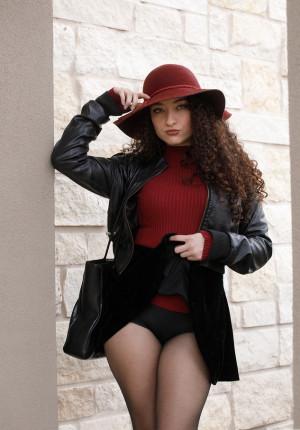 skirt bigbutt leather
