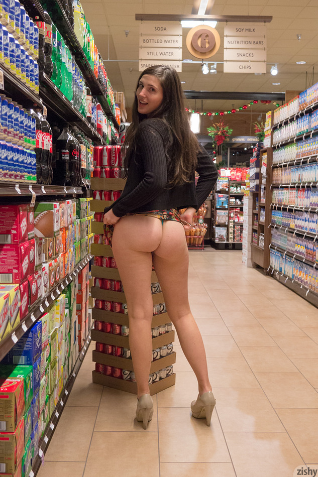 Were visited Nude women public store consider