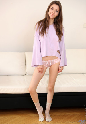 19 year old busty Mila Azul is cute and sweet and oh so sexy