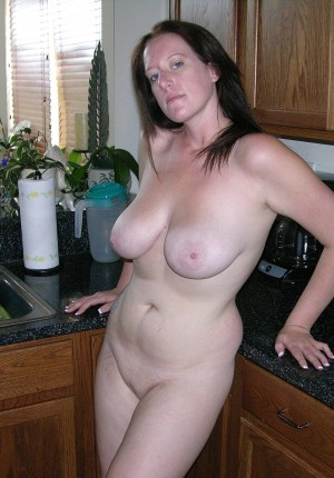 brunette  mom naked