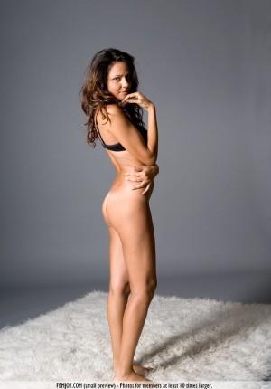 Stunning erotic nudes of Chiara showing her tan lines