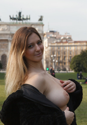 Blonde Big Tits Tease Fuck