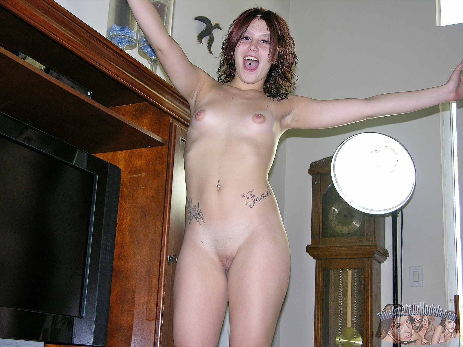model shoot amateur Nude first photo