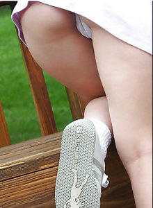 Park Day Panty Teen Tease