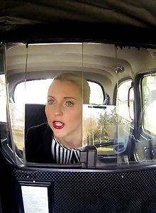 Beautiful Blonde Lexi Fucks In A Fake Taxi