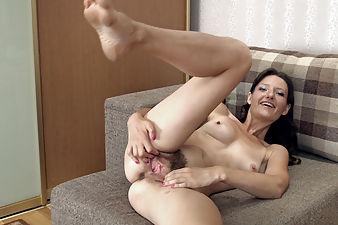 Beautiful Lulu puts on erotic striptease today