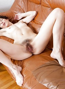Hairy woman Milady gets laid