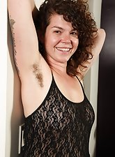 Hairy Pussy Audrey From ATK Hairy