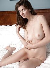 Charlotta looking sensual in the nude
