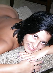 Cuban amateur girl gets nude for the first time