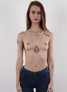 Nude petite booty gif