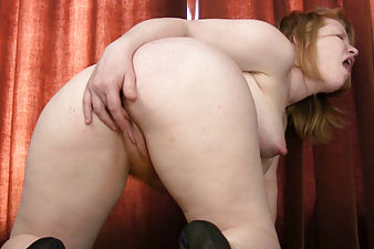 Madison Young sucks her wet fingers