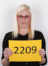 Blonde amateur Tereza from Czech Casting