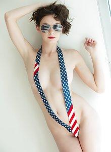 Rylee Marks teases us in a very patriotic way